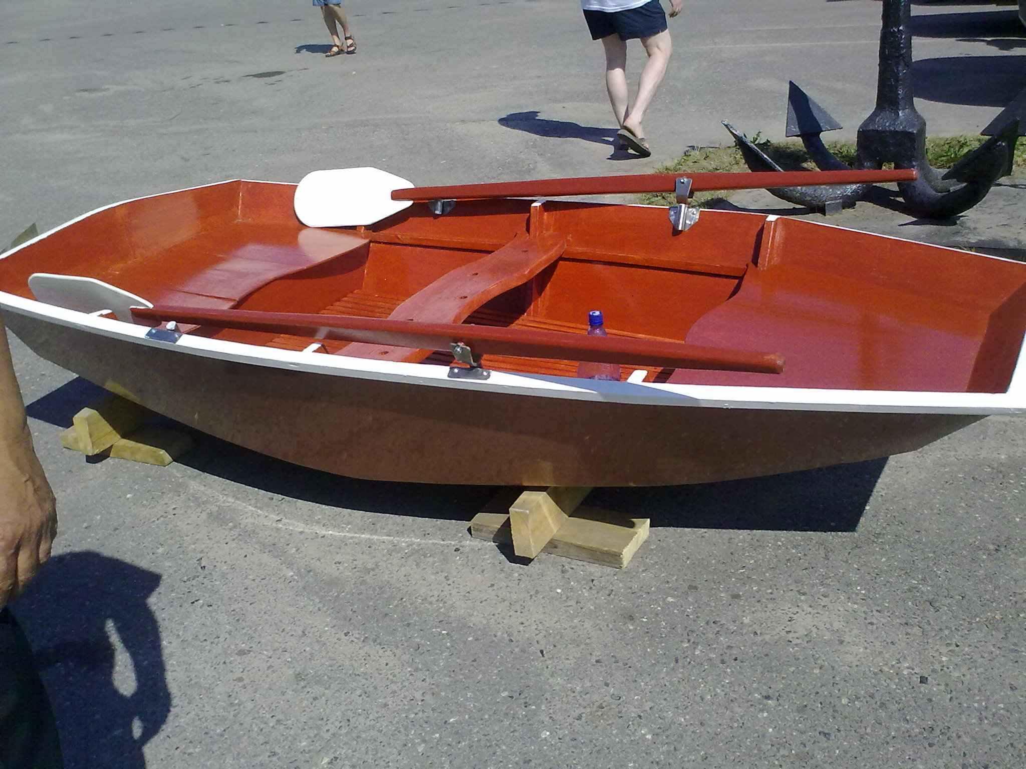 Декор лодка своими руками 4