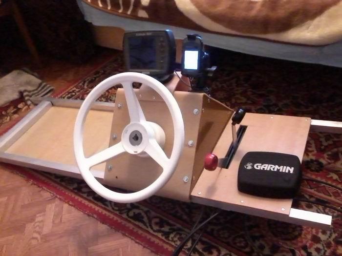 Как сделать рулевое управление на лодку пвх своими руками 42