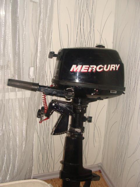 лодочные моторы mercury 4 л.с f4m