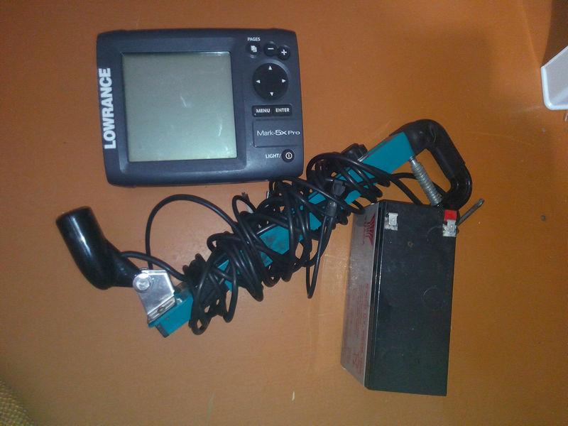 купить кронштейн для датчика lowrance mark-5x pro