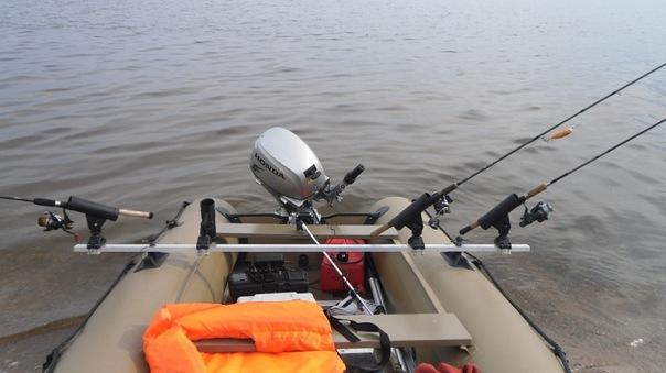 тюнинг лодок пвх под троллинг